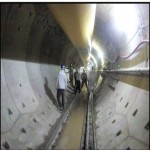Tunnel after Lining by using RCC Hexagonal Segments in Bheri Babai Diversion Multipurpose Project
